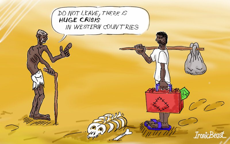 Crisis in western countries